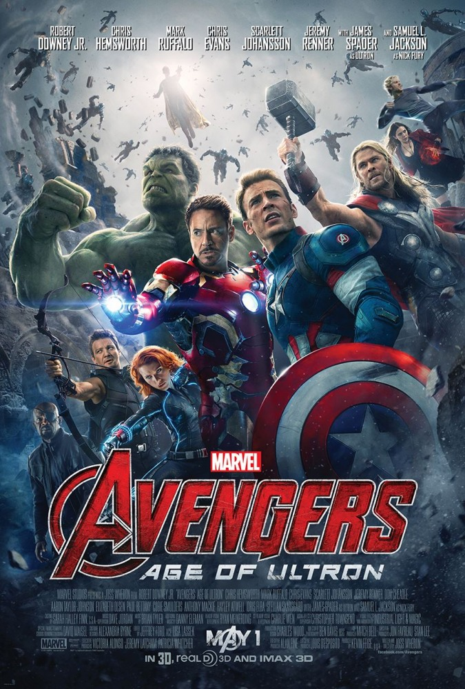 Мстители: Эра Альтрона (2015) онлайн