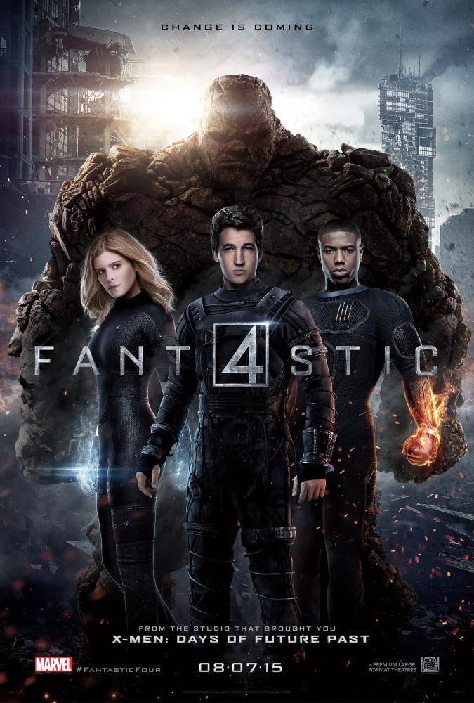 Фантастическая четверка  (2015) онлайн
